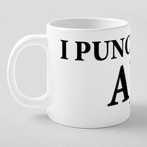 ipunchedaj 20 oz Ceramic Mega Mug
