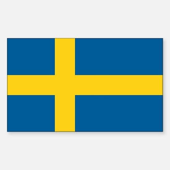 Swedish Flag Rectangle Stickers