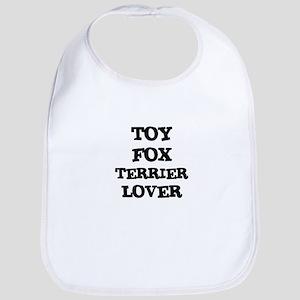 TOY FOX TERRIER LOVER Bib