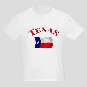 Texas State Flag Kids Light T-Shirt