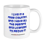 Licenses and Permits Mug