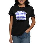 Licenses and Permits Women's Dark T-Shirt