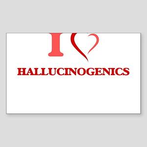 I love Hallucinogenics Sticker