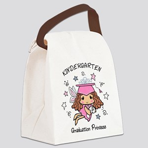 Kindergarten Graduation Princess Canvas Lunch Bag