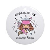 Kindergarten graduation Round Ornaments