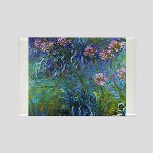 Claude Monet Jewelry Lilies Magnets