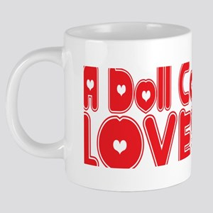 abc1157 A Doll Collector.pn 20 oz Ceramic Mega Mug
