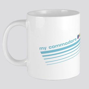 my commodore 64 says its ra 20 oz Ceramic Mega Mug