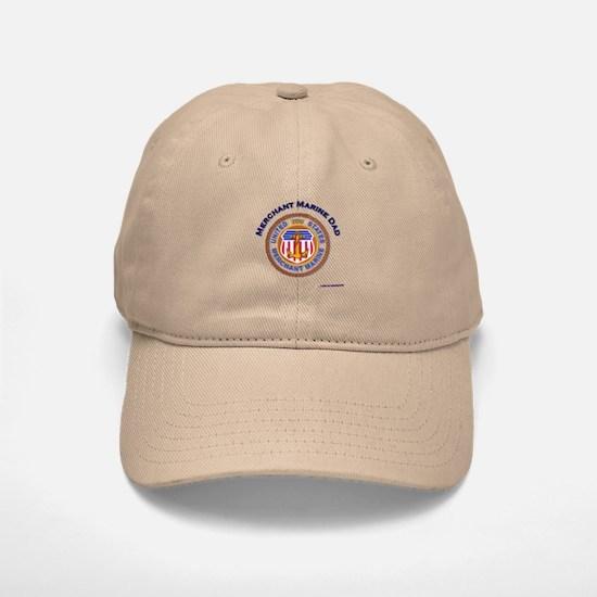Merchant Marine Dad Baseball Baseball Cap
