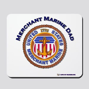 Merchant Marine Dad Mousepad