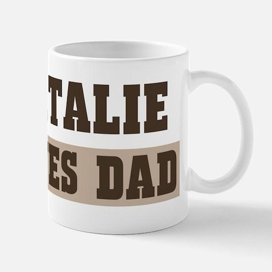 Natalie loves dad Mug