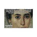 Wisdom of Greece: Hypatia Rectangle Magnet
