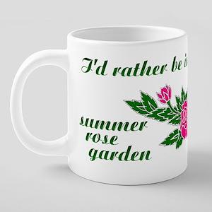 ratherBin-my-rose-gardenmug 20 oz Ceramic Mega Mug