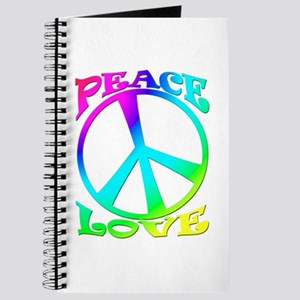 psychedelic peace symbol Journal