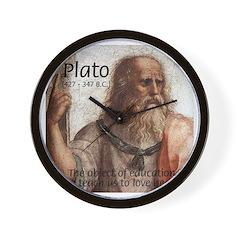 Plato Education: Wall Clock