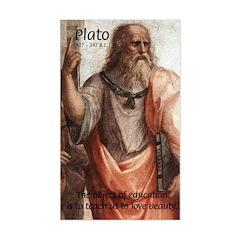 Plato Education: Rectangle Decal