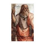 Plato Education: Rectangle Sticker