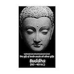 Buddhist Religion: Gift of Truth Sticker (Rectangu