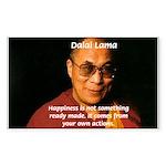 The Dalai Lama Rectangle Sticker