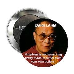The Dalai Lama Button