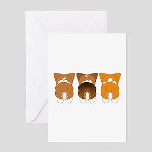 Mix Pembroke Greeting Card