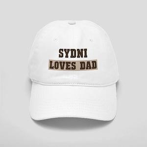 Sydni loves dad Cap