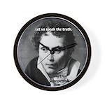 Schopenhauer Philosophy Truth Wall Clock