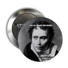Schopenhauer Philosophy Truth Button