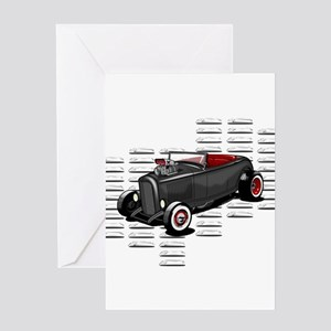 Louvered Deuce Greeting Card