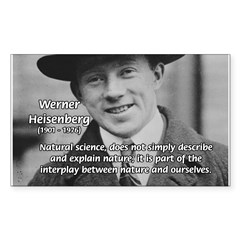 Heisenberg Natural Science Rectangle Decal