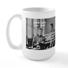 Marie Curie Physics Liberty Large Mug