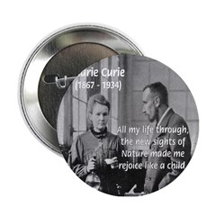 Marie Curie Physics Liberty Button