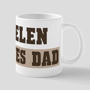 Helen loves dad Mug