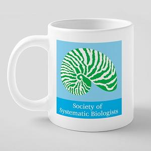 SSB logo mug 20 oz Ceramic Mega Mug