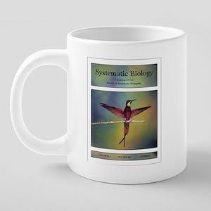 hummingbird-gene tree-mug.p 20 oz Ceramic Mega Mug