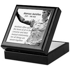 Universe: Marcus Aurelius Keepsake Box