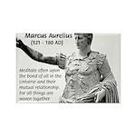 Universe: Marcus Aurelius Rectangle Magnet