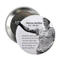 Universe: Marcus Aurelius Button