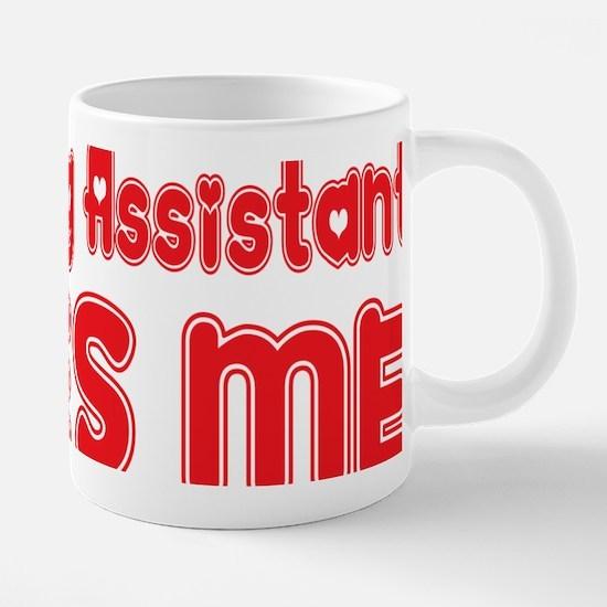 abc244 A Teaching Assistant 20 oz Ceramic Mega Mug
