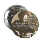 Maria Montessori Education Button