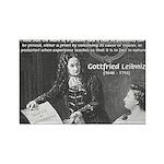 Leibniz Origins of Calculus Rectangle Magnet