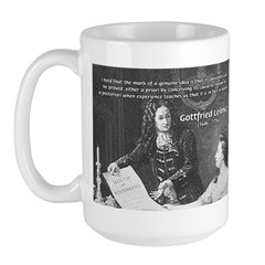 Leibniz Origins of Calculus Large Mug