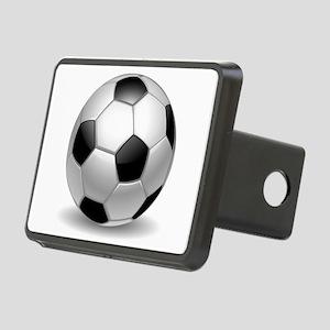 Soccer Ball Rectangular Hitch Cover