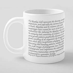 logo w caption 20 oz Ceramic Mega Mug