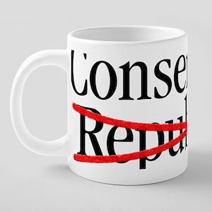 conservative_republican 20 oz Ceramic Mega Mug