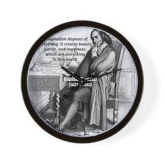 Mathematics: Blaise Pascal Wall Clock