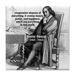 Mathematics: Blaise Pascal Tile Coaster
