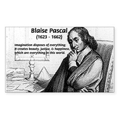 Mathematics: Blaise Pascal Rectangle Decal