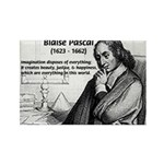 Mathematics: Blaise Pascal Rectangle Magnet