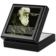 Charles Darwin: Science Keepsake Box